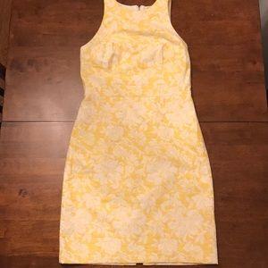 Lemon Yellow Ann Taylor Dress